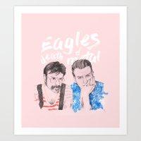 Eagles of Death Metal Art Print