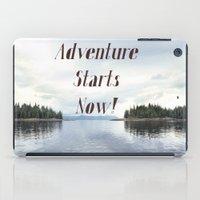 Adventure Starts Now! Al… iPad Case