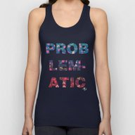 PROBLEMATIC Unisex Tank Top