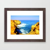 Girt by Sea Framed Art Print