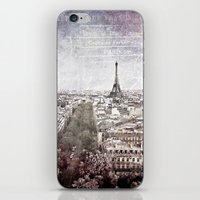 La Tour Eiffel {liberté iPhone & iPod Skin