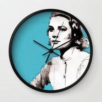 Grace Kelly Wall Clock