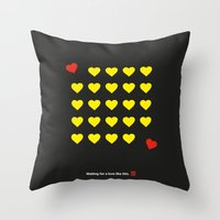 Waiting For A Love Like … Throw Pillow