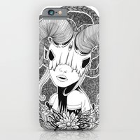 iPhone & iPod Case featuring Not a unicorn by Cannibal Malabar