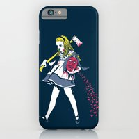 iPhone & iPod Case featuring Off With Her Head by Hillary White