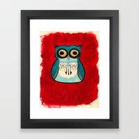 HootHoot Framed Art Print