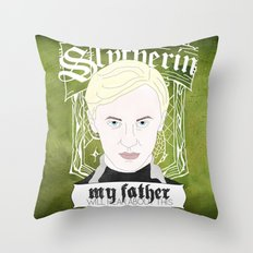 Draco Malfoy from Harry Potter  Throw Pillow