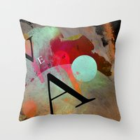 VEA 18 Throw Pillow
