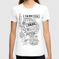 lyrics T-shirts featuring Lettering Lyrics by Insait disseny