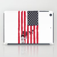Little Girl And Wolves iPad Case