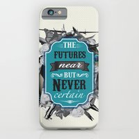 iPhone & iPod Case featuring The Future's Near But Never Certain by Lee Anne Steers