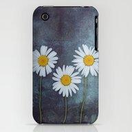 Marguerites iPhone (3g, 3gs) Slim Case