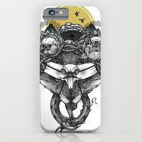 iPhone & iPod Case featuring The Count Bifrons by John D Wiltshire