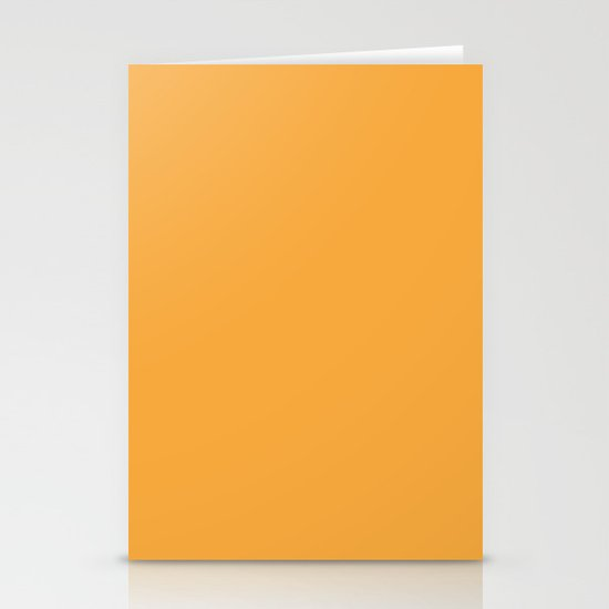 Creamsicle Stationery Card
