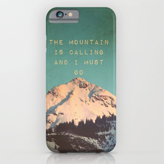 Mountain Is  Calling iPhone & iPod Case