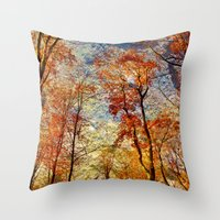 Dreamwood Throw Pillow