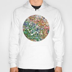 Colorful Shapes Pattern Hoody