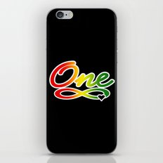 One Love iPhone & iPod Skin
