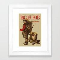 Newborn Army Framed Art Print