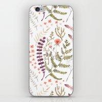 Wild Flora iPhone & iPod Skin