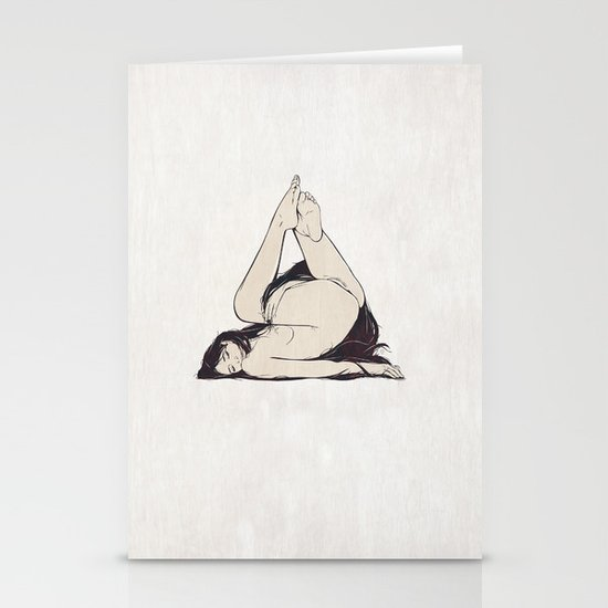 My Simple Figures: The Triangle Stationery Card