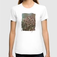 In The Garden  - JUSTART… Womens Fitted Tee White SMALL