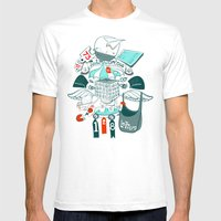 Brinking Valomatics Mens Fitted Tee White SMALL