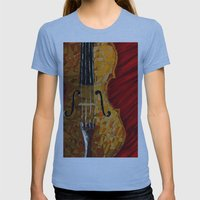 Classic Womens Fitted Tee Athletic Blue SMALL