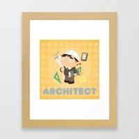 Architect Framed Art Print