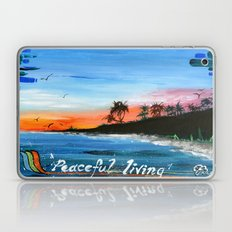 """PEACEFUL LIVING""  Laptop & iPad Skin"