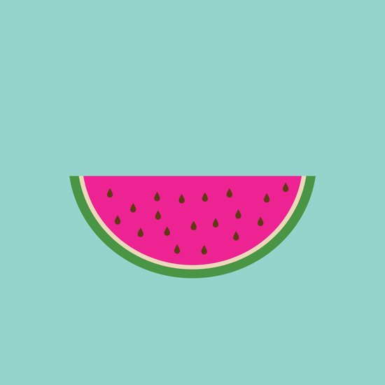Watermelon print Art Print