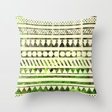Geometric Woods Throw Pillow