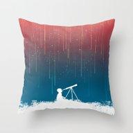 Meteor Rain (light Versi… Throw Pillow