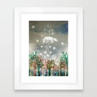 Rise Framed Art Print