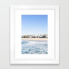 LA Framed Art Print