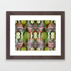 Step through rapidly except every time. Framed Art Print