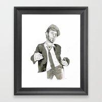 Tom Waits: The Early Yea… Framed Art Print