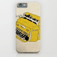 Grunge Typewriter iPhone 6 Slim Case