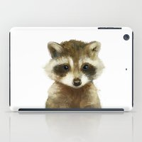Little Raccoon iPad Case