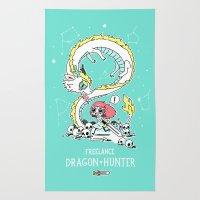 Dragon Hunter Rug