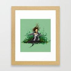 The green thumb curse II Framed Art Print