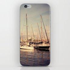 Port Vell Barcelona Spain iPhone & iPod Skin