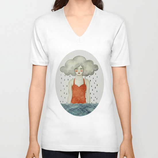 Aglaura V-neck T-shirt