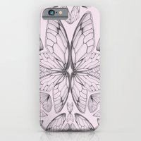 Rose Quartz Insect Wings iPhone 6 Slim Case