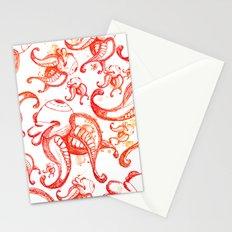 Burning up Stationery Cards