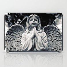 As the angel prays iPad Case