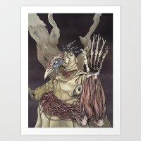 A Sacrifice For Knowledg… Art Print