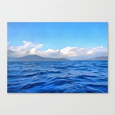 Aegean Blue Canvas Print