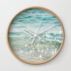 Falling Into A Beautiful Illusion Wall Clock