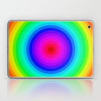 Rainbow Circle Laptop & iPad Skin